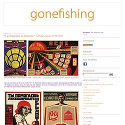 * La propagande du dimanche * Affiches russes 1919-1938 - Gone Fishing
