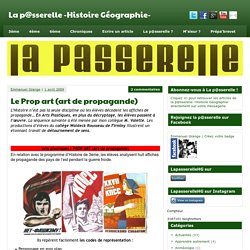 Le Prop art (art de propagande) - La p@sserelle -Histoire G?ographie-
