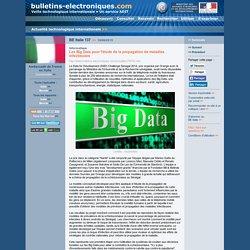 BE Italie 137 >> 18/06/2015 Les Big Data pour l'étude de la propagation de maladies infectieuses