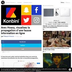 Avec Hoaxy, visualisez la propagation d'une fausse information en ligne