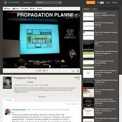 Propagation Planning
