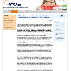 EFSA 08/02/12 L'EFSA publie un rapport sur les scénarios possibles de propagation du virus de Schmallenberg chez les ruminants