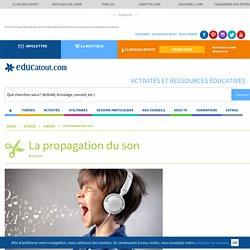 La propagation du son activités scientifiques pour les enfants . - Educatout.com