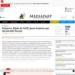 Proparco, filiale de l'AFD, passe toujours par des paradis fiscaux - Page 2
