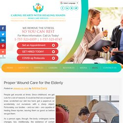 Proper Wound Care for the Elderly