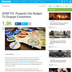 HOW TO: Properly Use Badges to Engage Customers