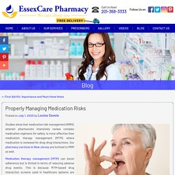 Properly Managing Medication Risks