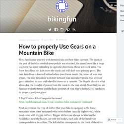 How to properly Uѕе Gears оn a Mountain Bike – bikingfun