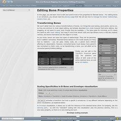 Doc:2.6/Manual/Rigging/Armatures/Editing/Properties