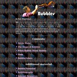 Soap Bubbles - Basic Properties, Bubble Recipe & More