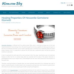 Healing Properties of Hessonite Garnet Gemstone
