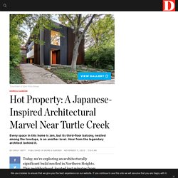 Hot Property: A Japanese-Inspired Architectural Marvel Near Turtle Creek