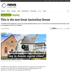 Property sizes, prices in Australia: Has 'home ownership' dream changed?