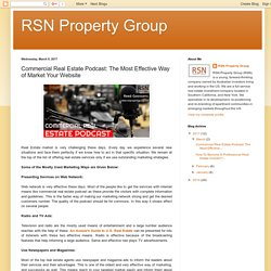 Commercial Real Estate Podcast by RSN Property Group