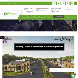 Property Details in New Sidhan Wali Housing Scheme