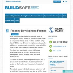 Property Development Finance UK