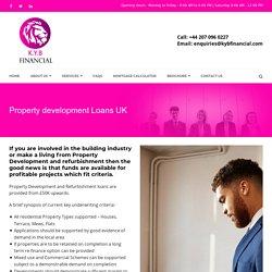 Get Property Development Finance UK