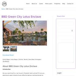 BBD Green City Lotus Enclave -