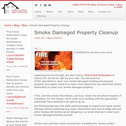 Smoke Damage Restoration Cherry Hill NJ