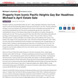 Property from Iconic Pacific Heights Gay Bar Headlines Michaan's April Estate Sale