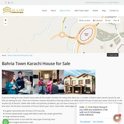 Property & Houses for Sale in Bahria town Karachi - Salaam Esate
