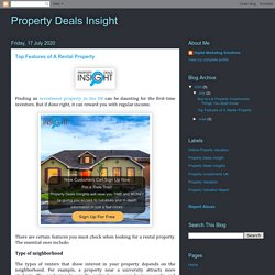 Top Features of A Rental Property