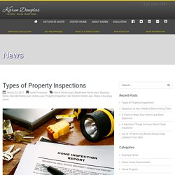 Property Inspection - Home Loan - Danville Home Loan - Blackhawk Home Loan