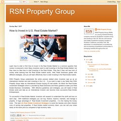 Buy US Multifamliy Apartments With RSN Property Group