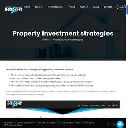 Property Investment Strategies UK
