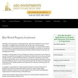 Best Real estate investors in Los Angeles_Los Angeles real estate investors