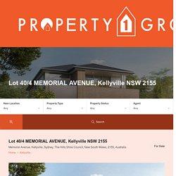 Buy Brand New Property in Kellyville