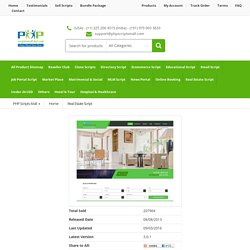 PHP Property Listing Script, Classifieds Listing Script