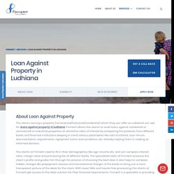 Loan Against Property in Ludhiana