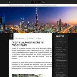 Find Property and Buying procedure in Dubai at Property Find