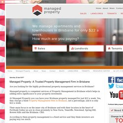 Property Management Brisbane