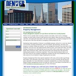 Denver Property Management Services