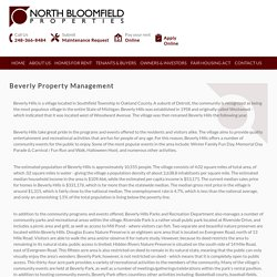Beverly Property Management & Rental Property Management Companies in Beverly