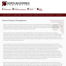 Fenton Property Management & Rental Property Management Companies in Fenton