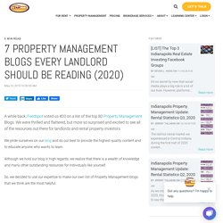 7 Property Management Blogs Every Landlord Should Be Reading (2020)