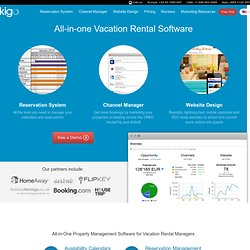 Kigo - Vacation Rental Software and Websites