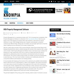 HOA Property Management Software Knowpia