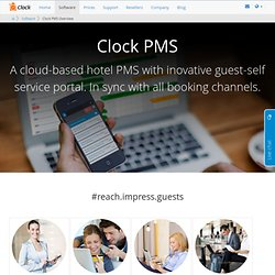 Clock PMS: Cloud based hotel property management system