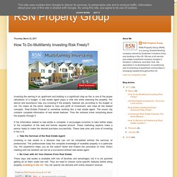 Invest in US Multifamily Real Estate