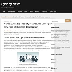 Savas Guven Big Property Planner And Developer