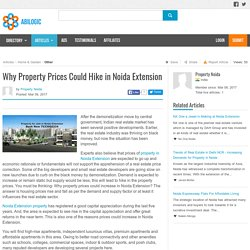 Property Prices in Noida Extension