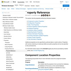 Property Reference