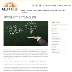 Property Styling 101