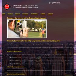 Leading Property Surveying Company in NYC