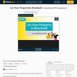 Let Your Propertyin Bracknell PowerPoint Presentation, free download - ID:10424811