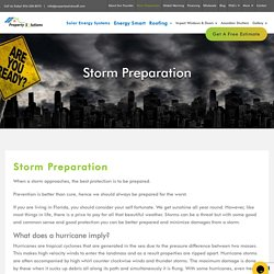 Hurricane Preparedness, Storm Preparation - Propertysolutionsfl.com
